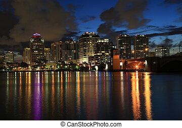 Skyline of West Palm Beach
