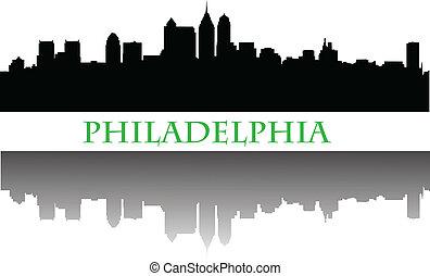 skyline, philadelphia