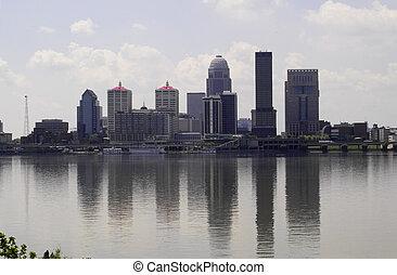 Skyline - Photo of skyline of Louisville, Kentucky with ...