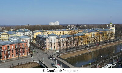 St. Petersburg in spring time lapse