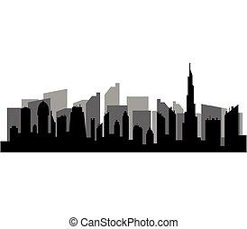 skyline, stadt