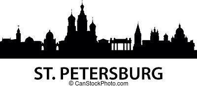 skyline, str.. petersburg