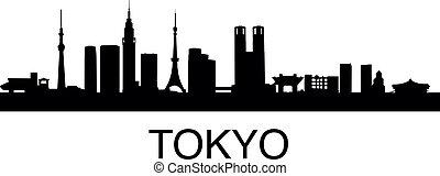 skyline, tokyo