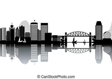 skyline, vancouver
