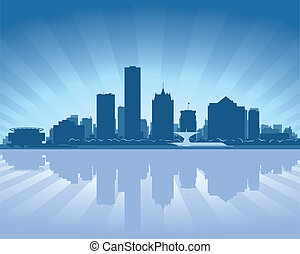 skyline, wisconsin, milwaukee
