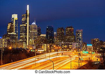 skylines, филадельфия