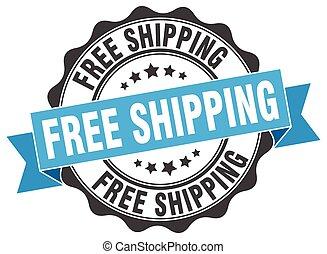 skylt., stamp., gratis, skeppning, försegla