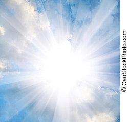 skyn, och, stjärna