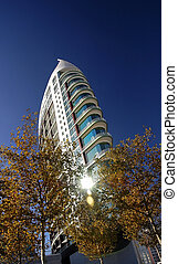 skyraper, nymodig arkitektur