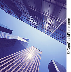 Skyscape - office buildings
