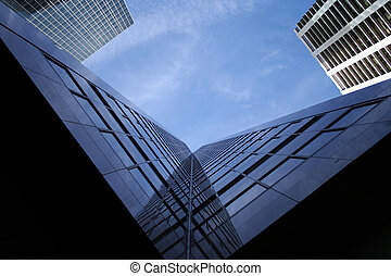 skyscraper abstract