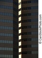 Skyscraper building.