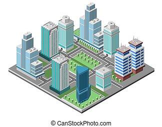 Skyscraper City Concept