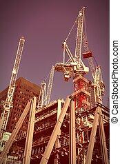 Skyscraper construction