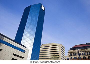 Skyscraper in Lexington, Kentucky.