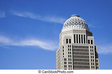 Skyscraper in Louisville, Kentucky.