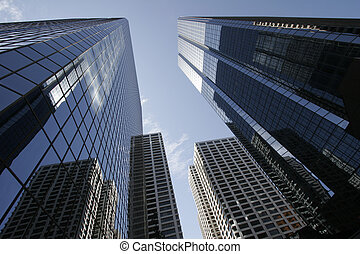 Skyscraper - Modern office giants in Northern America