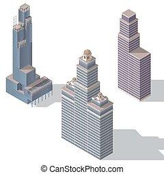 skyscraper set 2