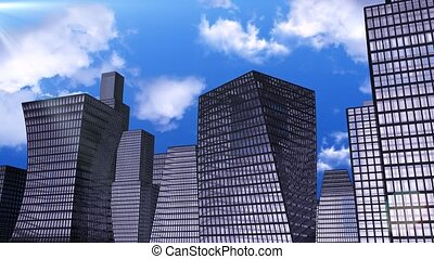 Spectacular skyscrapers for your intro.