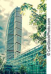 Skyscraper Turning Torso, Sweden - MALMO, SWEDEN - AUGUST 3:...