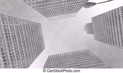 Skyscraper - Spectacular skyscrapers for your intro.