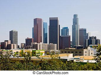 Los Angeles - Skyscrapers in downtown Los Angeles