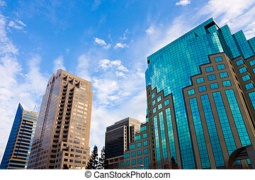 Skyscrapers in downtown Sacramento California