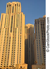 Skyscrapers in Dubai