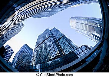 Skyscrapers in Hong Kong