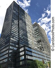 Skyscrapers in Manhattan