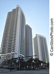 Skyscrapers in Miami