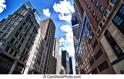 Skyscrapers of Manhattan