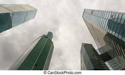 skyscrapers of moscow international business centre