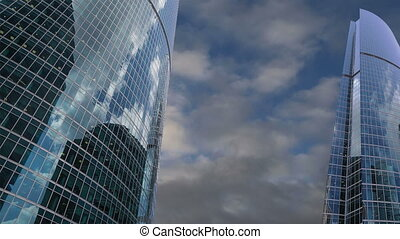 Skyscrapers of the International Business Center (City), Moscow, Russia