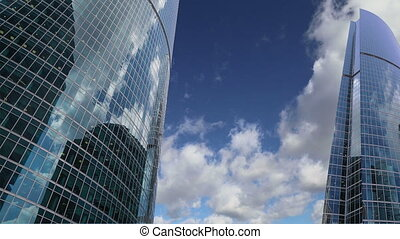 Skyscrapers of the International Business Center (City),Moscow, Russia
