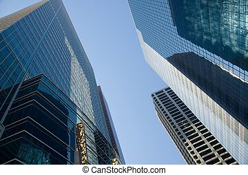 Skyscrapers - Office towers in Calgary, Canada