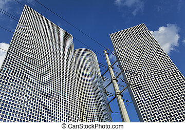Skyscrapers & Pylon