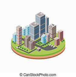 Skyscrapers  urban