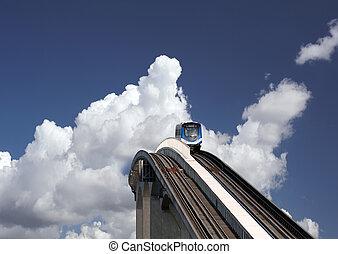 SkyTrain in Vancouver