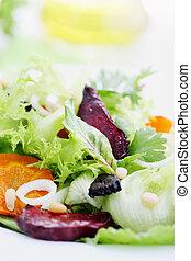 slaatje, groentes, vitamine