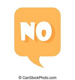 slang bubbles, no yellow bubble over white background, flat icon design
