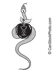 slang, verboden fruit