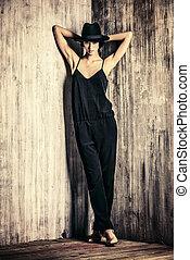 slank, mod, modell