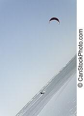 Slanted Wind Surfing