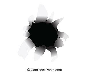 Slash vector illustration