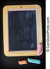 slate and chalk