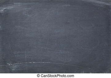texture of vintage slate blackboard with scratches and white chalk smudges