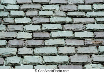 Slate roof - A old slate roof background