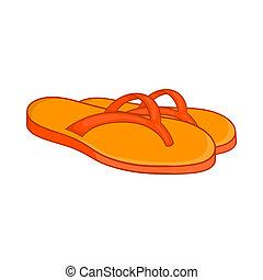 Slates icon, cartoon style