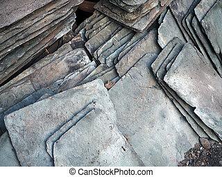 Slates - Used roofing slates